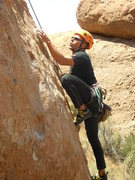 Rock Climbing Photo: Getting established on the initial slab of the Hea...