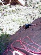Rock Climbing Photo: Travis and Jon following P1