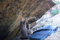 Rock Climbing Photo: LDY on his line.