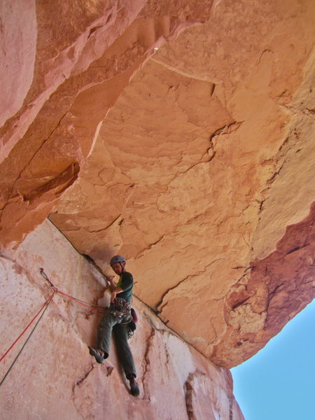 Pitch 4 roof traverse