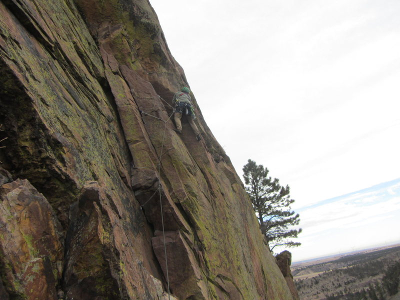 Rock Climbing Photo: Ruper Traverse in Eldo