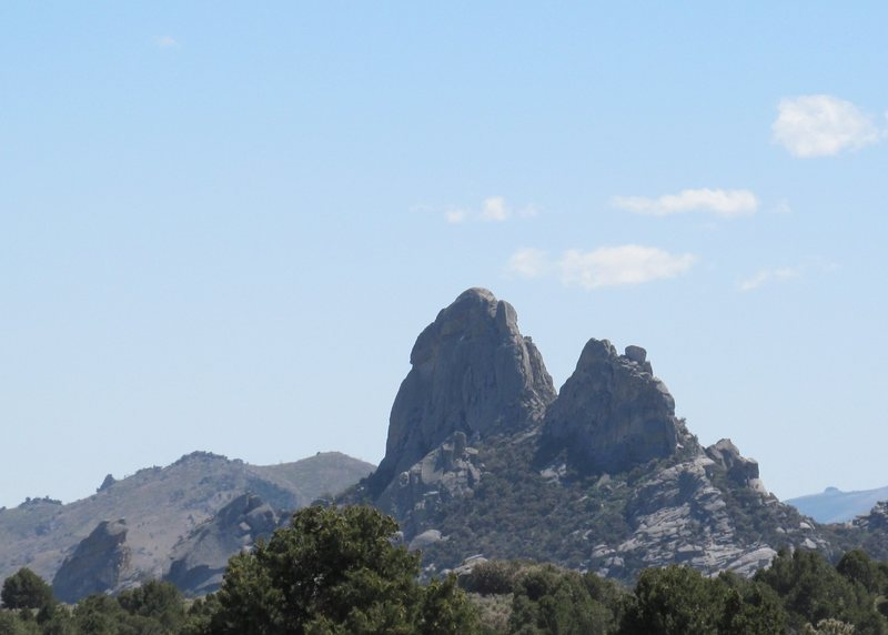 Rock Climbing Photo: Twin Sisters from NE.