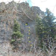 Rock Climbing Photo: Juggernaut 5.11b