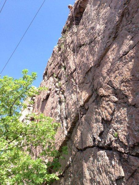 Photo of the rock.  Good fun rock.