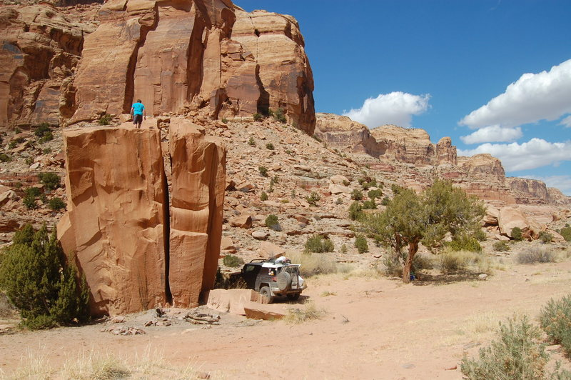One of my favorite campsites. Pine Canyon, UT.
