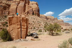Rock Climbing Photo: One of my favorite campsites. Pine Canyon, UT.