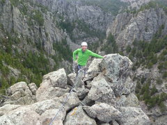 Rock Climbing Photo: On the great summit.