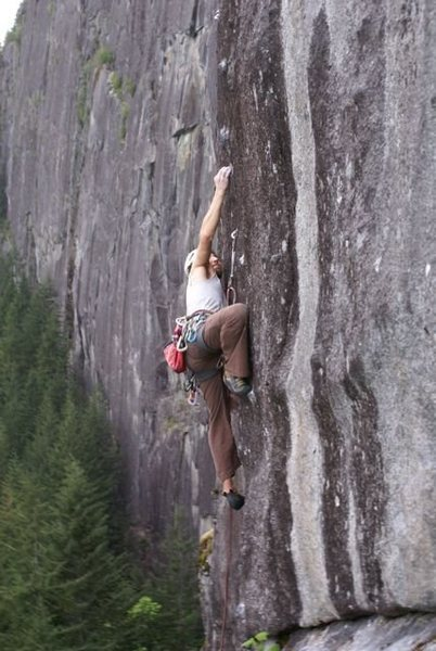 Rock Climbing Photo: B. Lignoski