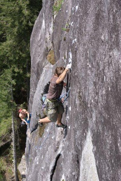 Rock Climbing Photo: M. Rynkiewicz on Echolocation (11b).