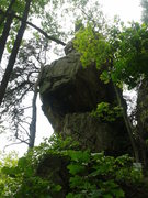 Rock Climbing Photo: Alabama Sandstone.