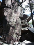 Rock Climbing Photo: A nice warm-up problem just to the left of On Your...