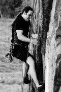 Rock Climbing Photo: Pulling Through the Crux