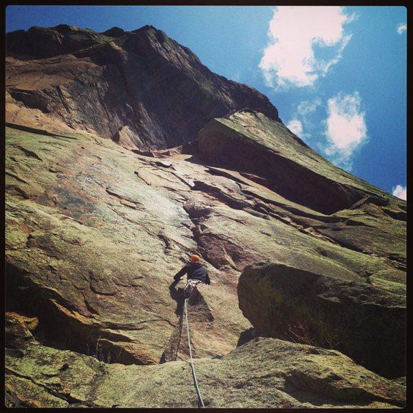 """Rock Climbing Photo: C""""est La Vie"""