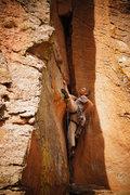 Rock Climbing Photo: FFA with JJ