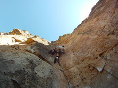 Rock Climbing Photo: Early Bird Climb to catch the shade.  Stimulating ...