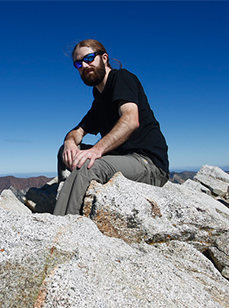 John at the summit of Pfeifferhorn