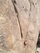 Rock Climbing Photo: Chas on Deep Yogurt