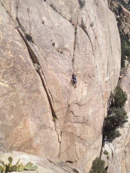 Rock Climbing Photo: Bobby on Deep Yogurt