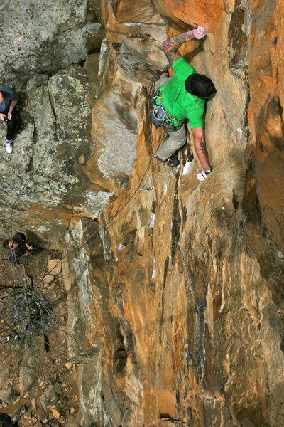 Rock Climbing Photo: Rob on LOTD