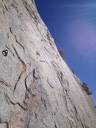 Rock Climbing Photo: High Exposure Exit