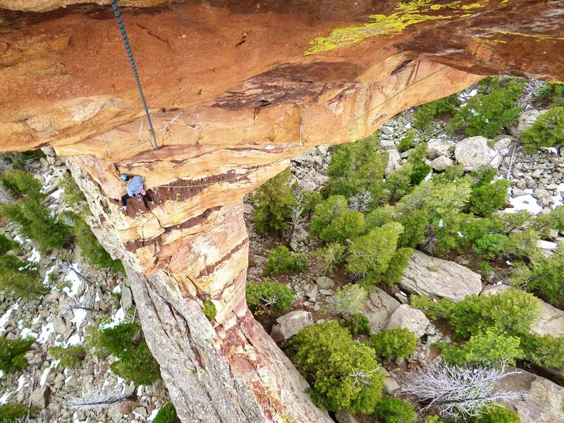 Rock Climbing Photo: Maiden, Flatirons.