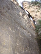 Rock Climbing Photo: Once You Black, You'll Never Go Back, 5.10a.      ...