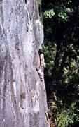 Rock Climbing Photo: Climber on Go! (5.9). (Photo from RCNW.net)