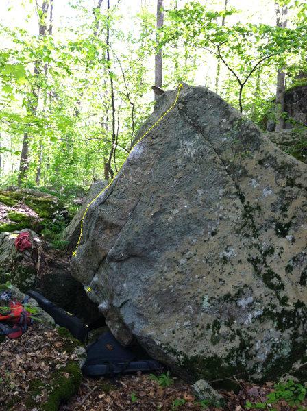 Rock Climbing Photo: 3/4's