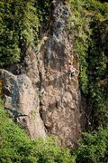 Rock Climbing Photo: Hyena's Secret Wall