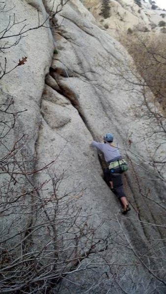 Rock Climbing Photo: Losing my Religion
