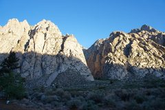 Rock Climbing Photo: Early morning light
