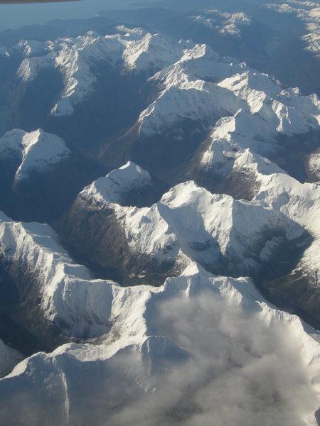 Darran Mountains, South Island