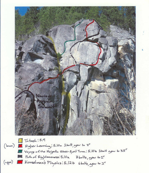 Upper area above Narrow Arrow. (Image by Defecto, from RCNW.net)