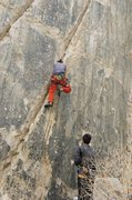 Rock Climbing Photo: Jordi starting up Chronic