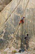Rock Climbing Photo: Jordi higher on Chronic