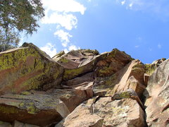Rock Climbing Photo: Pictured is the start of Dugald's Route, Dugald's ...