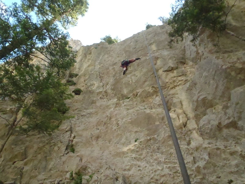 Rock Climbing Photo: Drowning in Flame: June 2011