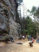Rock Climbing Photo: Bruise Bros
