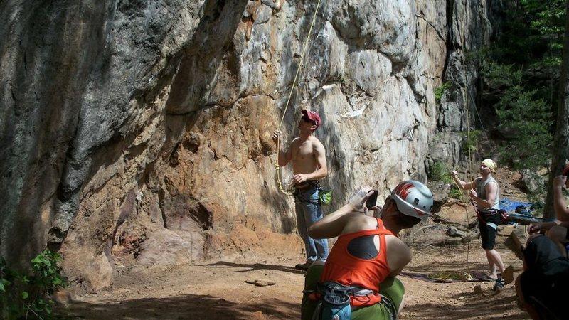 Rock Climbing Photo: Burn Crack