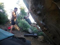 Rock Climbing Photo: Keep it going