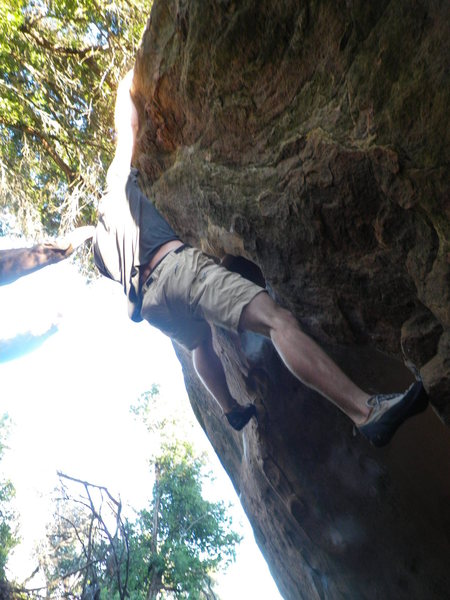 Rock Climbing Photo: Gassed...maybe next time