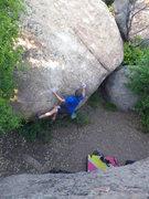 Rock Climbing Photo: Jake on Charlotte