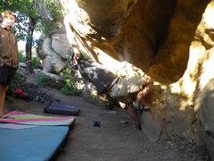 Rock Climbing Photo: Start move of All mod