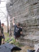Rock Climbing Photo: Jump for Joy