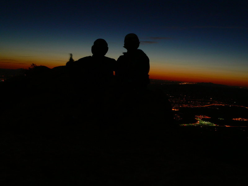 Rock Climbing Photo: I thought you brought the headlamp....