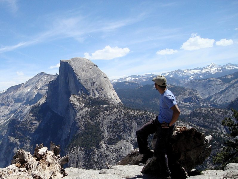 Rock Climbing Photo: Half Dome