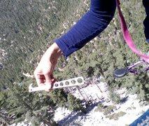 Rock Climbing Photo: i LOVE my RETRACTABLE nut tool ;)