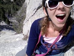 Rock Climbing Photo: whodunnit? I did ;) Tahquitz