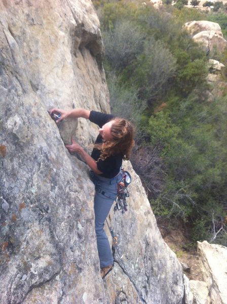 Rock Climbing Photo: Thacher school, Ojai CA