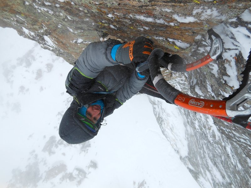 Rock Climbing Photo: First pitch climbing.